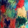Farben, Malerei, Informel, Spachteltechnik