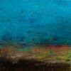 Landschaft, Malerei, Spachteltechnik