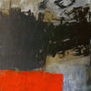 Malerei, Farben, Unbunt, Rot