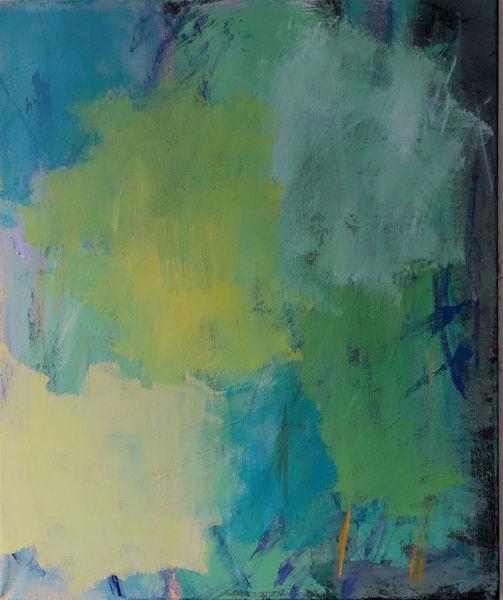 Schleierhaft, Malerei, Abstrakt