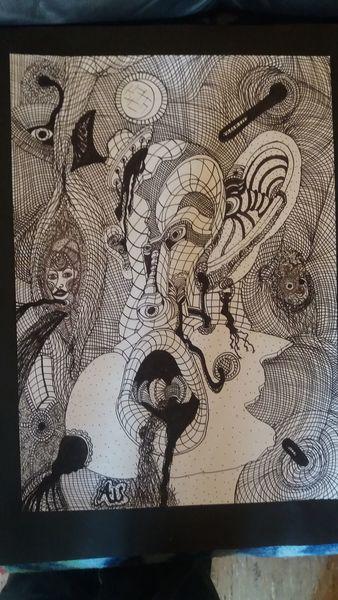 Abstrakt, Zeichnung, Zeichnungen,