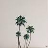 Ölmalerei, Bunt, Palmen, Malerei