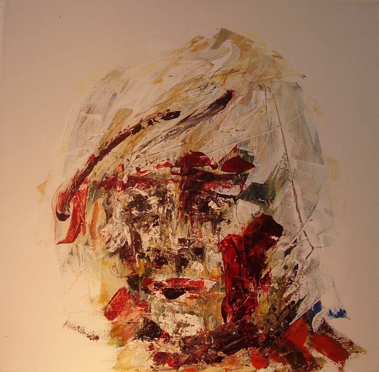 Bild: Malerei, Kopf, Abstrakt von Horst Röttger bei KunstNet