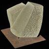 Verwerfung, Bruchlinie, Skulptur, Sandstein