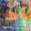 Ölmalerei, Zeitgenössische malerei, Struktur, Abstrakte malerei
