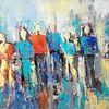 Abstrakte malerei, Moderne malerei, Moderne kunst, Zeitgenössische malerei