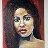 Acrylmalerei, Malerei, Zeitgenössische malerei, Portrait