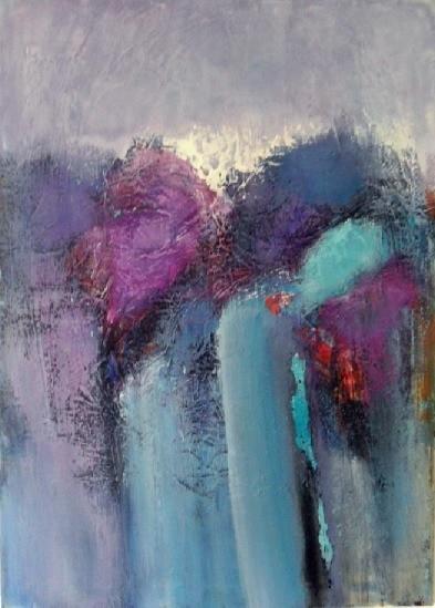 Blau, Moderne malerei, Moderne kunst, Lila, Abstrakte malerei, Gemälde