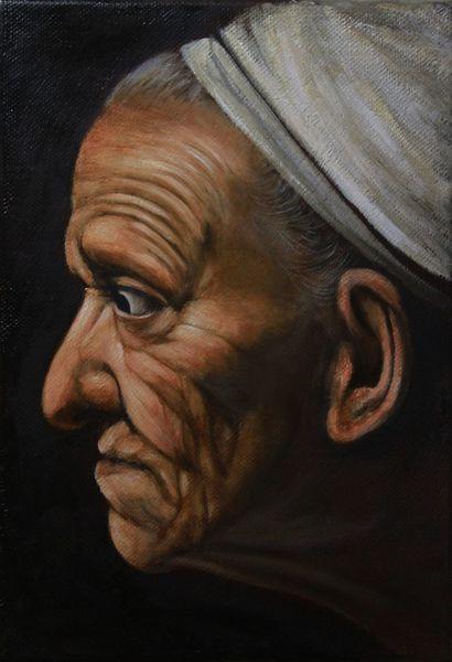 Chiaroscuro, Barock, Caravaggio, Ölmalerei, Malerei, Studie