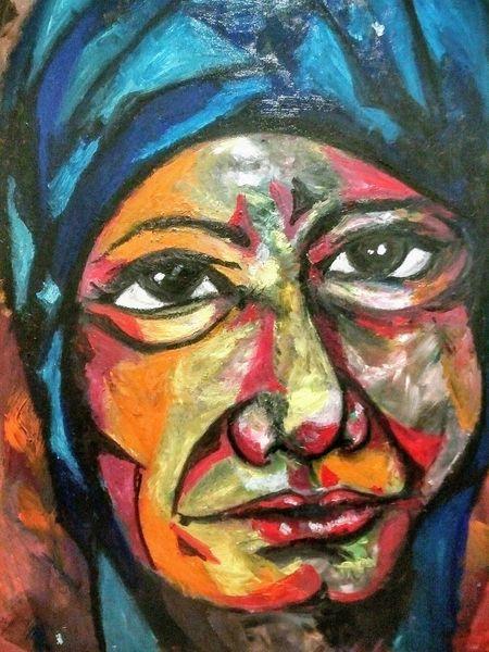 Politik, Malerei, Menschen, Skurril, Modern, Frau