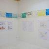 Ausstellung, Malerei, Gemälde, Pinnwand