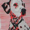 Copic, Dalmatiner, Zeichnung, Abstrakt