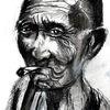 Menschen, Rauchen, Zeichnungen,