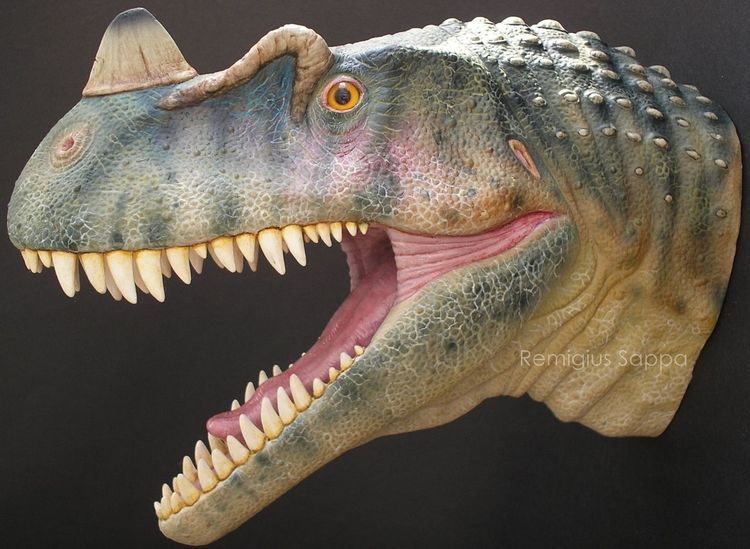 Kopf, Horn, Dinosaurier, Plastik