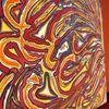 Acrylmalerei, Farn wald, Abstrakt, 3 schicksalsgöttinnen