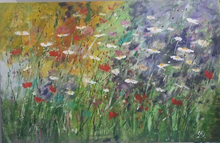 Pflanzen, Impressionismus, Kunstgeschichte, Kunstwerk, Bunt, Ruhe