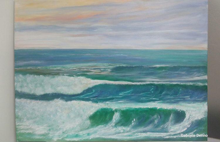 La mer, Kunstsammler, Sand, Brandung, Wellenreiten, Ostsee