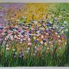 Gabrieledenno, Kunstwerk, Blumen, Monet