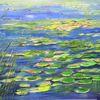 Seerosen, Teich, Wasserlilien, See