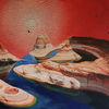 Malerei, Surreal, Modern art, Fluss