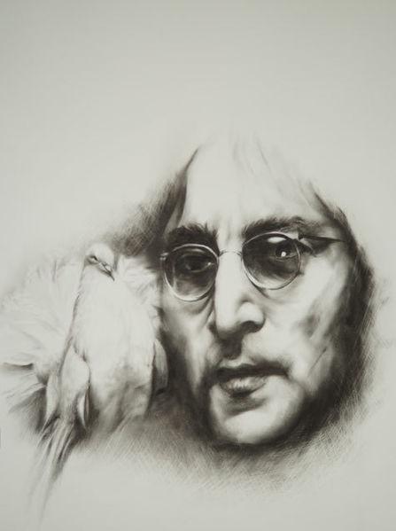 Sänger, Taube, Menschen, Lennon, Lennon brille, Brille