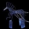 Pegasus, Tiere, Stahl, Kunsthandwerk