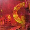 Rot, Gelb, Fantasie, Abstrakt