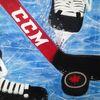 Eis, Acrylmalerei, Sport, Schlittschuh