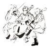 Bleistiftzeichnung, Probe, Malen zur musik, Geige