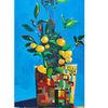 Pflanzen, Zitrone, Mediterran, Mittelmeer