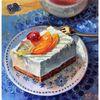 Sommer, Süßigkeit, Stillleben, Montagskuchen tortenstück