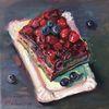 Torte, Kuchen, Himbeere, Süßigkeit