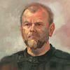 Mann, Portrait, Ölmalerei, Malerei