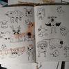 Alltag, Superstar, Trauer, Zeichnungen
