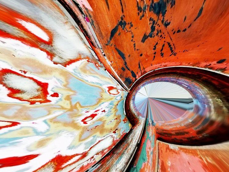 Abstrakt, Orange, Graffiti, Bschoeni, Digitale kunst