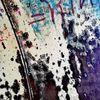 Graffiti, Abendstimmung, Fassade, Abstrakt