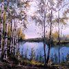 Russland, See, Natur, Fluss