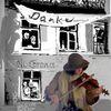 Collage, Musik, Häuser, Virus
