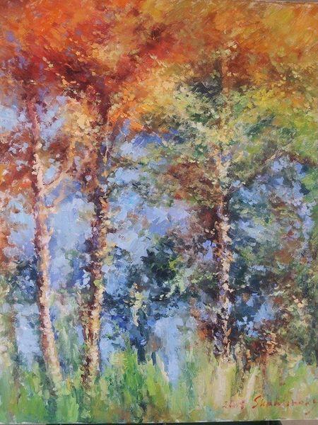 Malerei, Natur, Landschaft