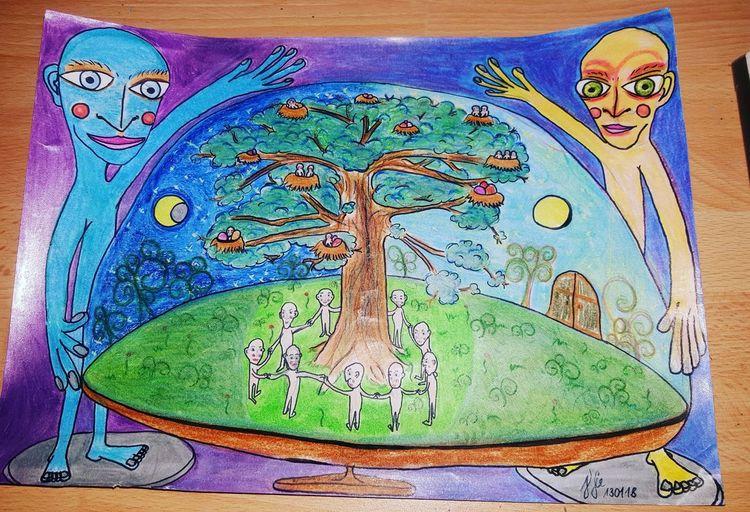 Leben, Augen, Sonne, Mond, Welt, Natur