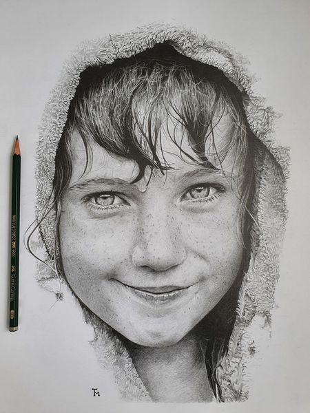 Schwarzweiß, Portrait, Bleistiftzeichnung, Zeichnung, Zeichnungen