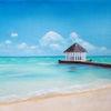 Sand, Wasser, Meer, Urlaub
