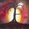 Kraft, Übergang, Spirituell, Baum