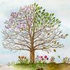 Spirituell, Leben, Kreislauf, Baum