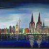 Kölner dom, Köln, Panorama, Rhein