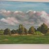 Wolken, Baum, Licht, Herbst