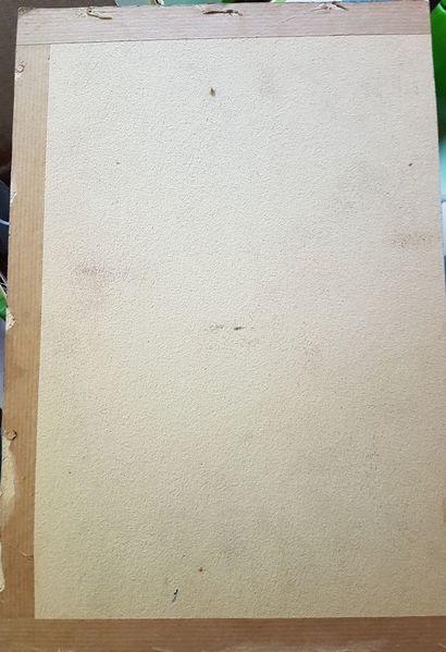 Pinnwand, Rückseite