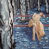 Kiefer, Surrealistische lanschft, Kiefernzapfen, Wald