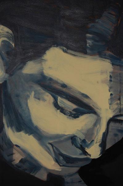 Gesicht, Schwarz, Portrait, Elfenbein, Mann, Malerei