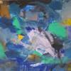 Informel, Abstrakte malerei, Abstrakter expressionismus, Blau gelb